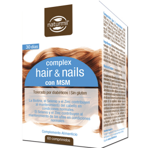 HAIR & NAILS 60 Comprimidos - Naturmil