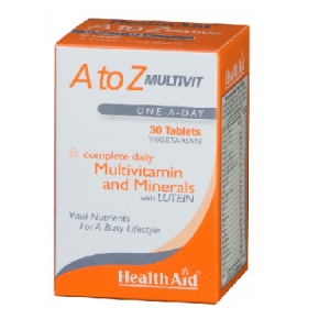 A To Z Multivit Comprimidos - Health Aid