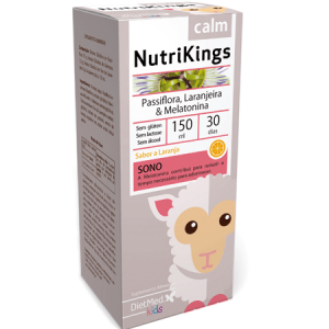 "NUTRIKINGS CALM "" 150ML SOLUCAO ORAL - Dietmed"