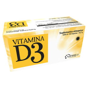 VITAMINA D3 5000Ul 90 Cápsulas - Natiris